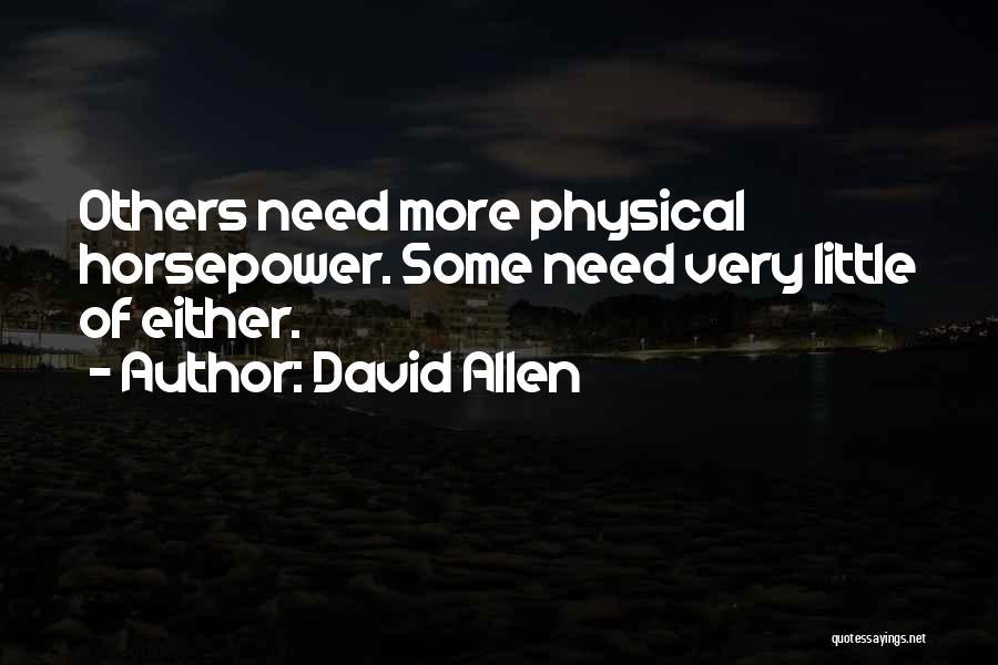 David Allen Quotes 1065652
