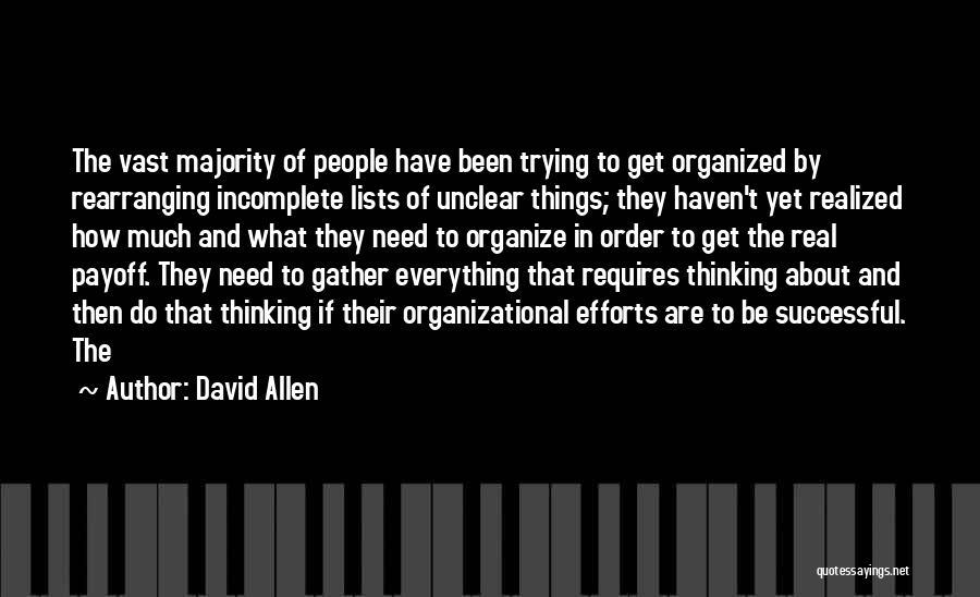David Allen Quotes 1173406