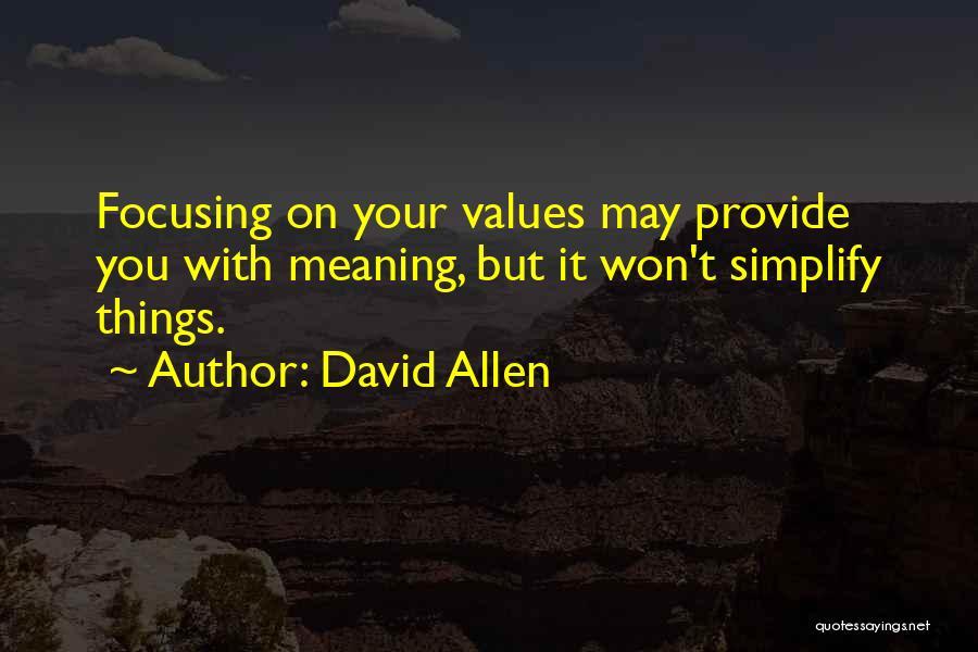 David Allen Quotes 1173581