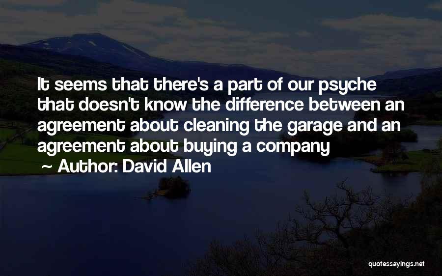 David Allen Quotes 1185896