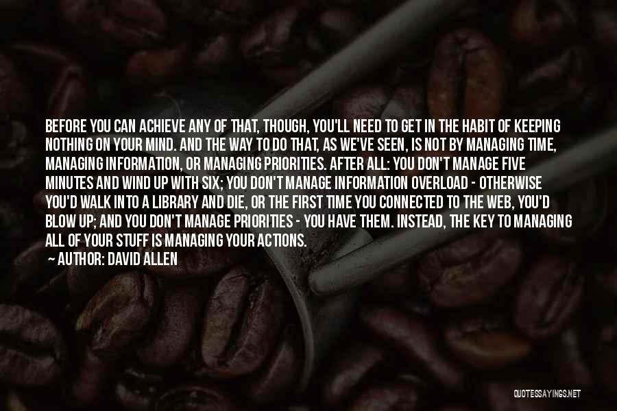 David Allen Quotes 1210064