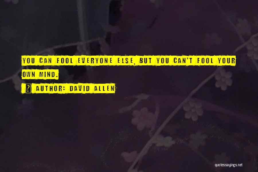 David Allen Quotes 1274191