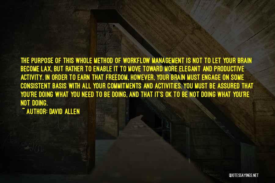 David Allen Quotes 1341989