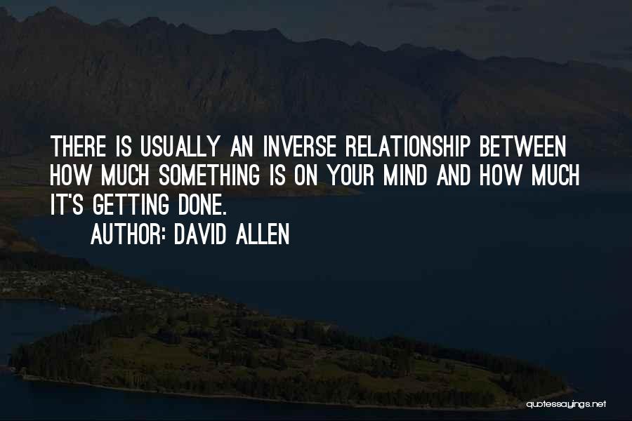 David Allen Quotes 1408912