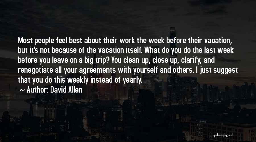 David Allen Quotes 143486