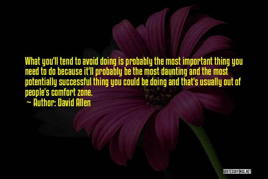 David Allen Quotes 1442971