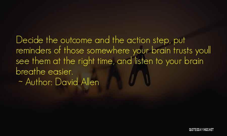 David Allen Quotes 1459483