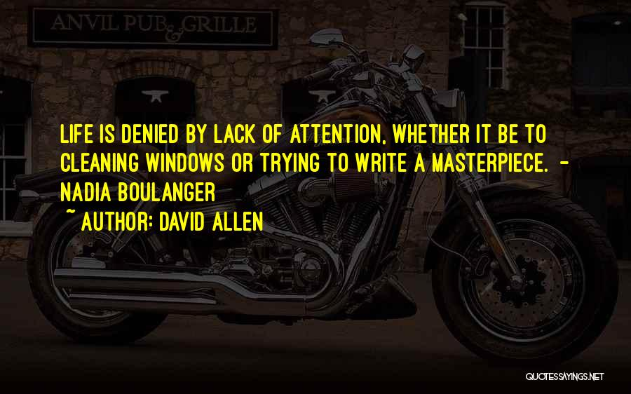 David Allen Quotes 1473829