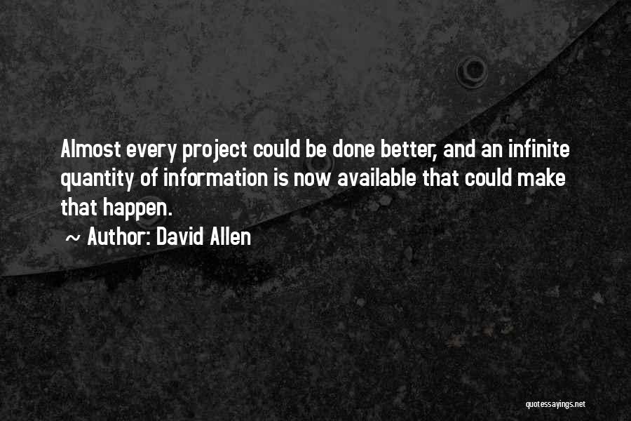 David Allen Quotes 1539458