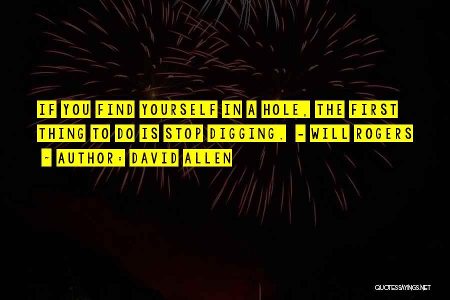 David Allen Quotes 1673227