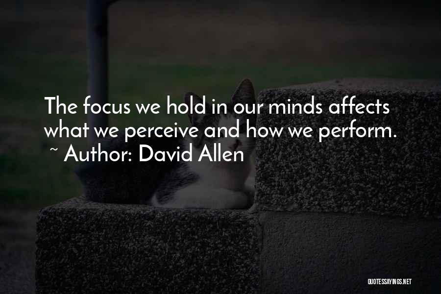 David Allen Quotes 1678404