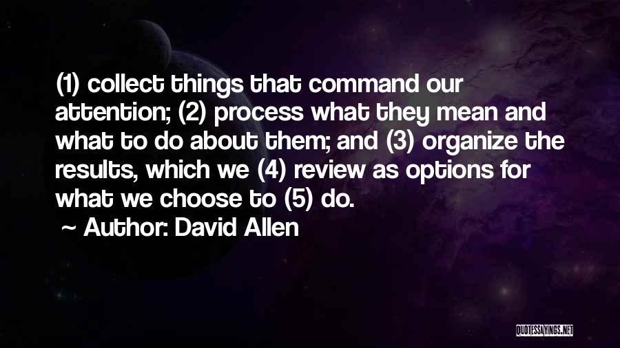 David Allen Quotes 1703014