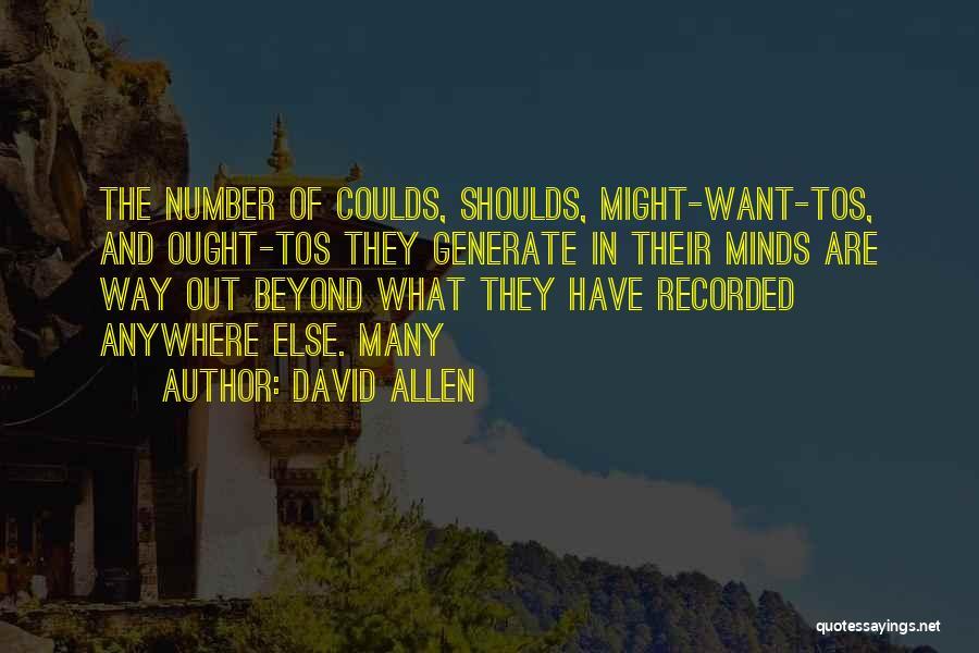 David Allen Quotes 1739815