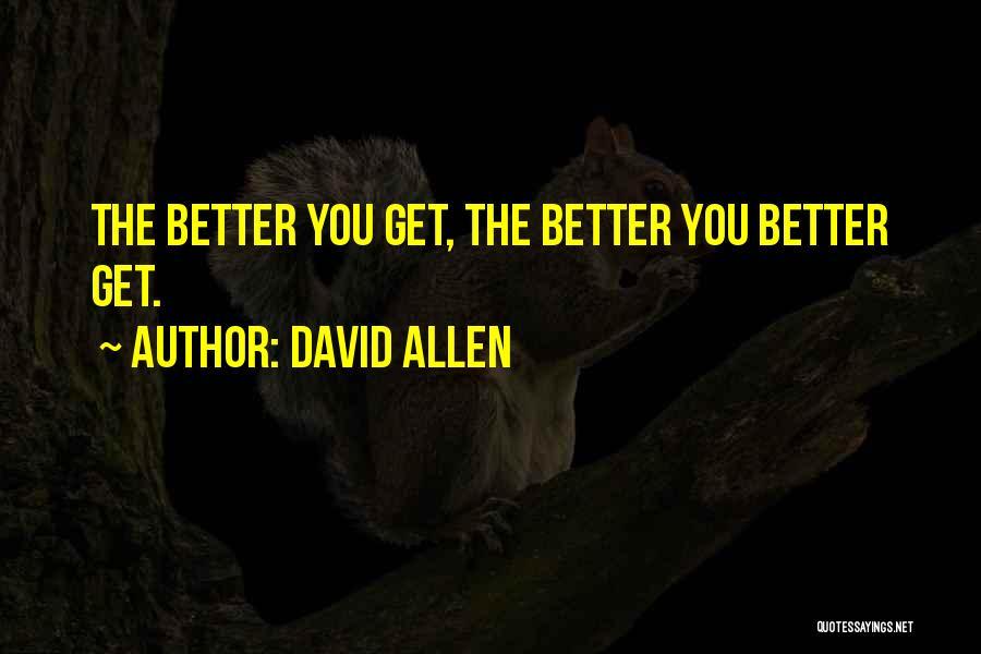 David Allen Quotes 2009483