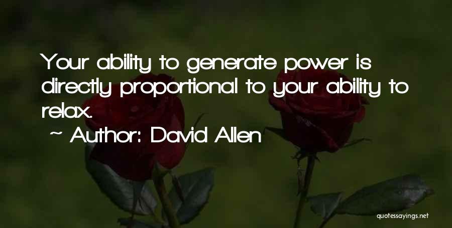 David Allen Quotes 202820