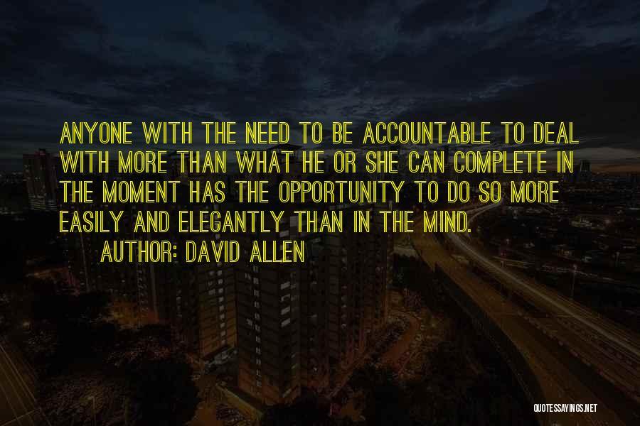 David Allen Quotes 2032043