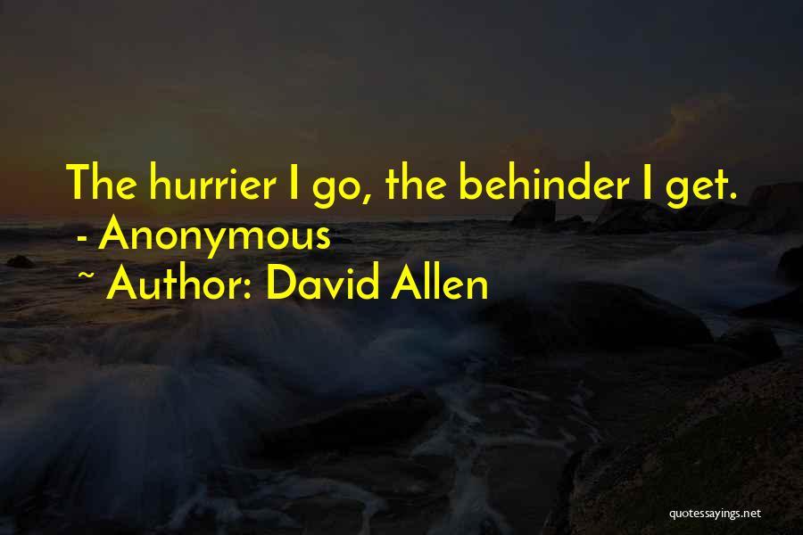 David Allen Quotes 2101385