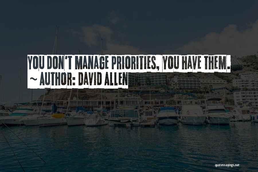 David Allen Quotes 2103200