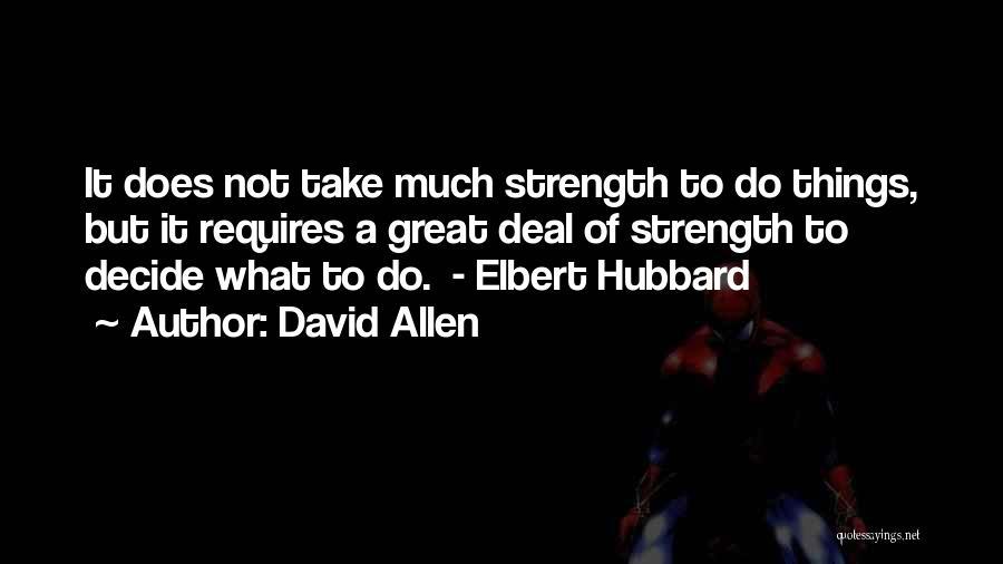 David Allen Quotes 2181924