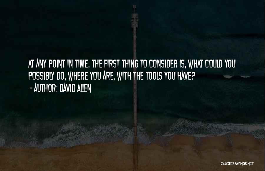 David Allen Quotes 2239066