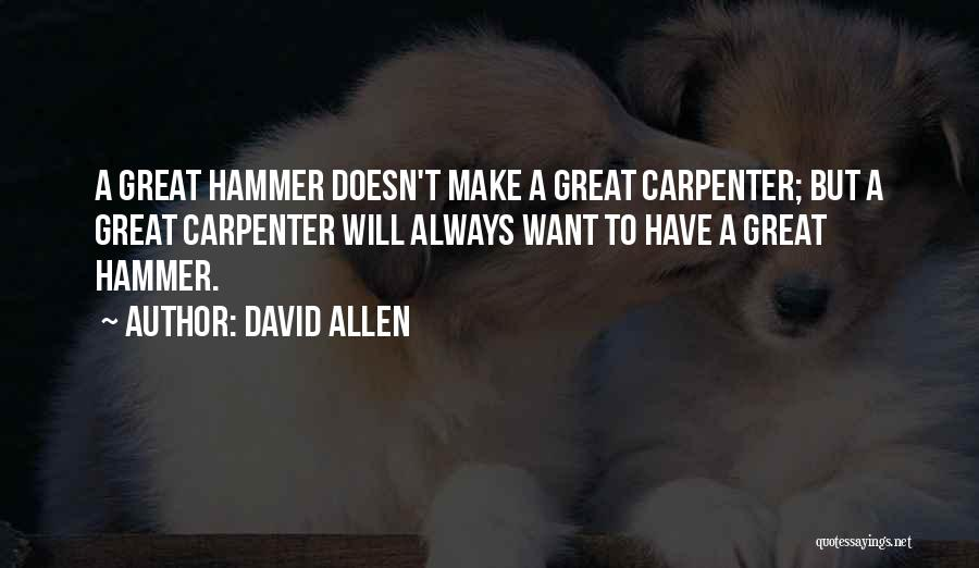 David Allen Quotes 227884