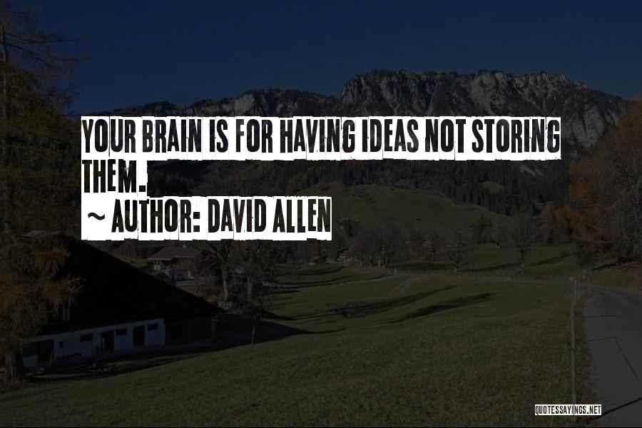 David Allen Quotes 267620