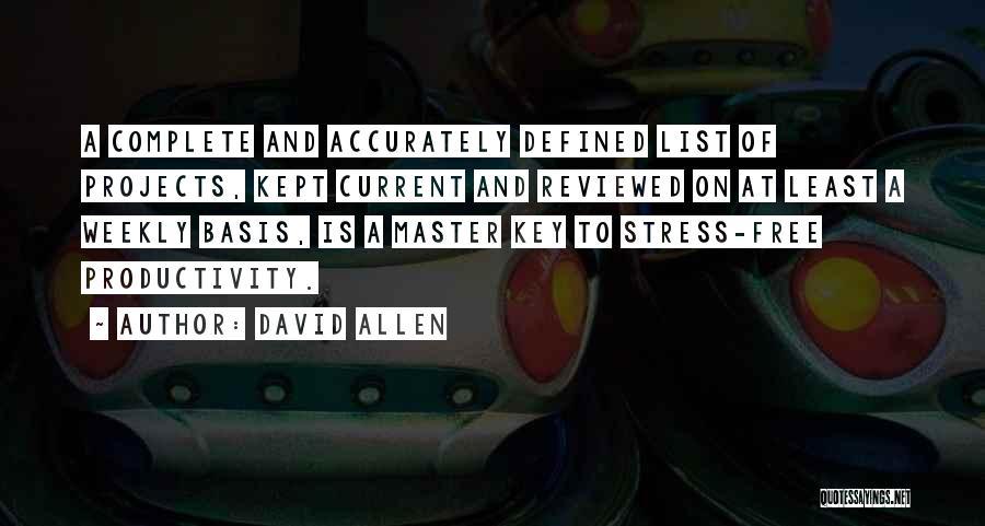 David Allen Quotes 300938