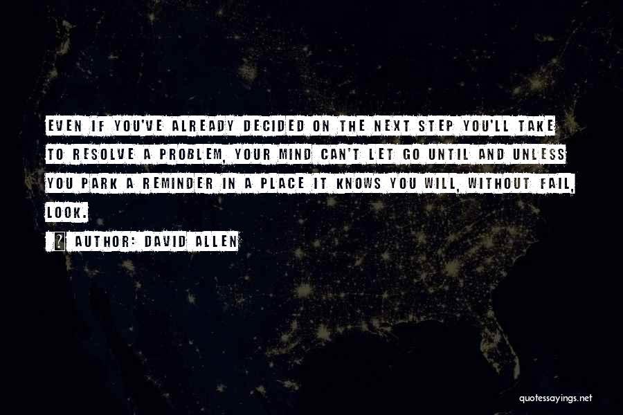 David Allen Quotes 320868
