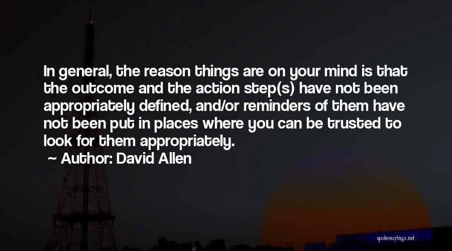 David Allen Quotes 323210