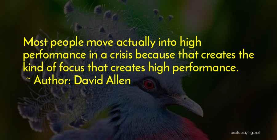 David Allen Quotes 389317