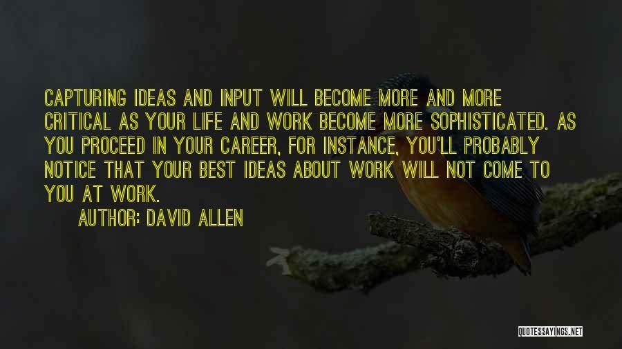 David Allen Quotes 398537
