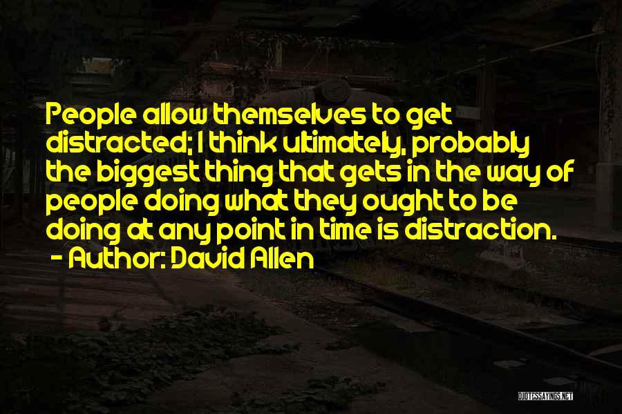 David Allen Quotes 494483