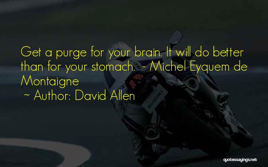 David Allen Quotes 534201