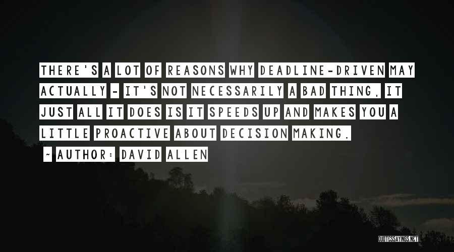 David Allen Quotes 658188