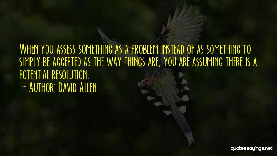 David Allen Quotes 719755