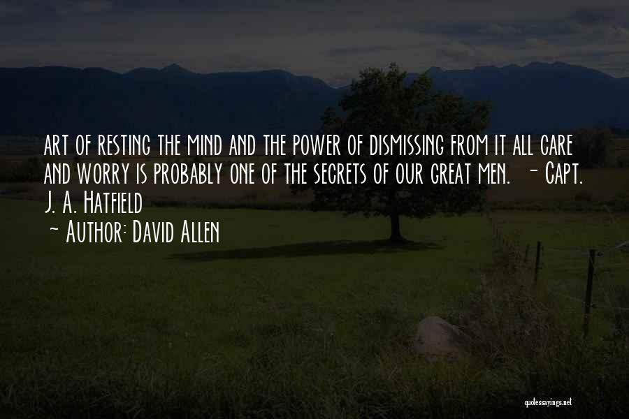 David Allen Quotes 874216