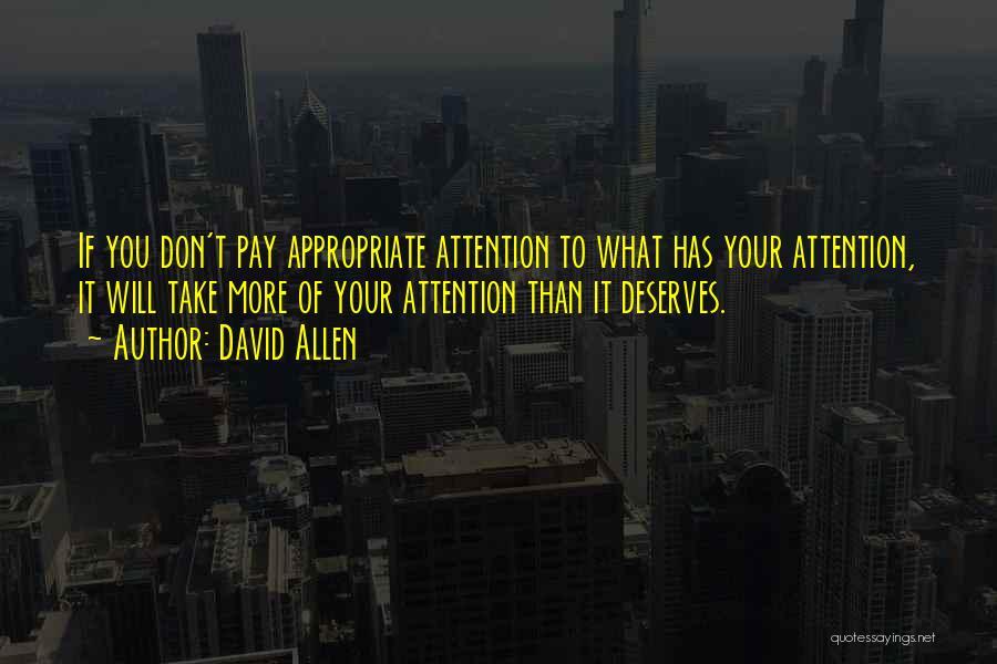 David Allen Quotes 903041