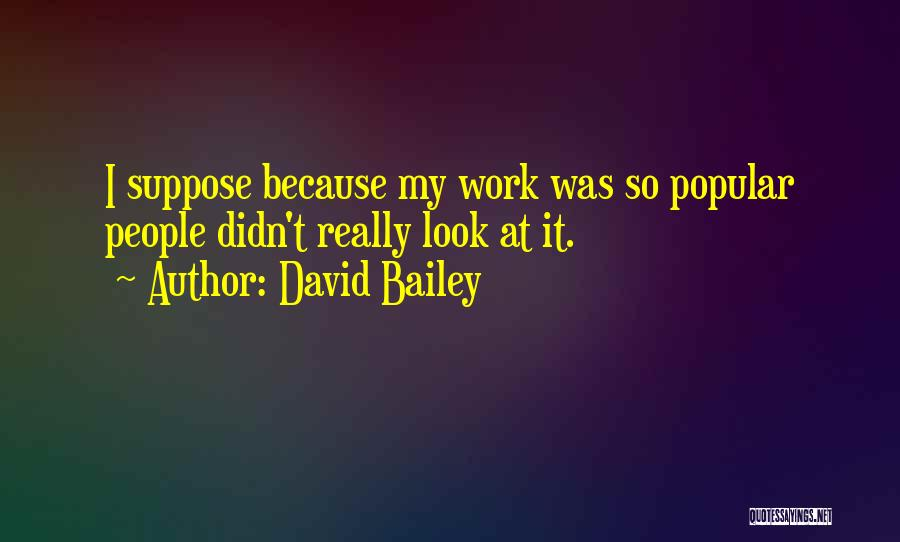 David Bailey Quotes 2192191