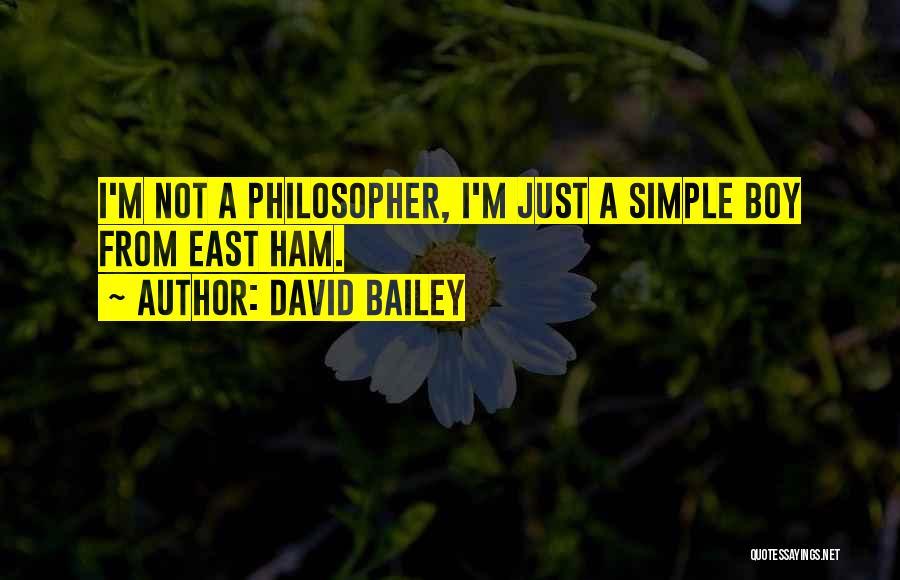 David Bailey Quotes 313223