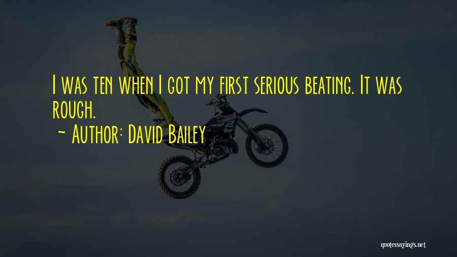 David Bailey Quotes 449825