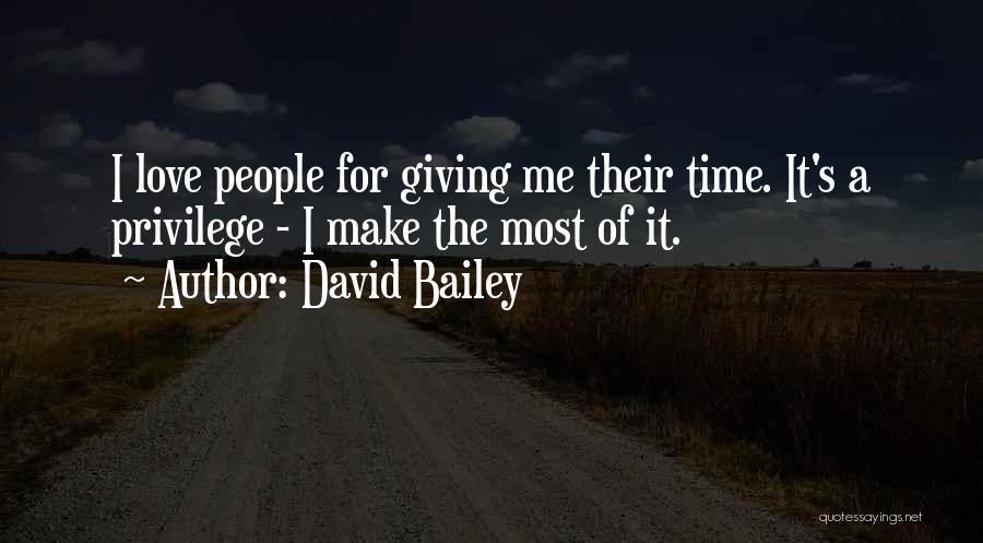 David Bailey Quotes 556626