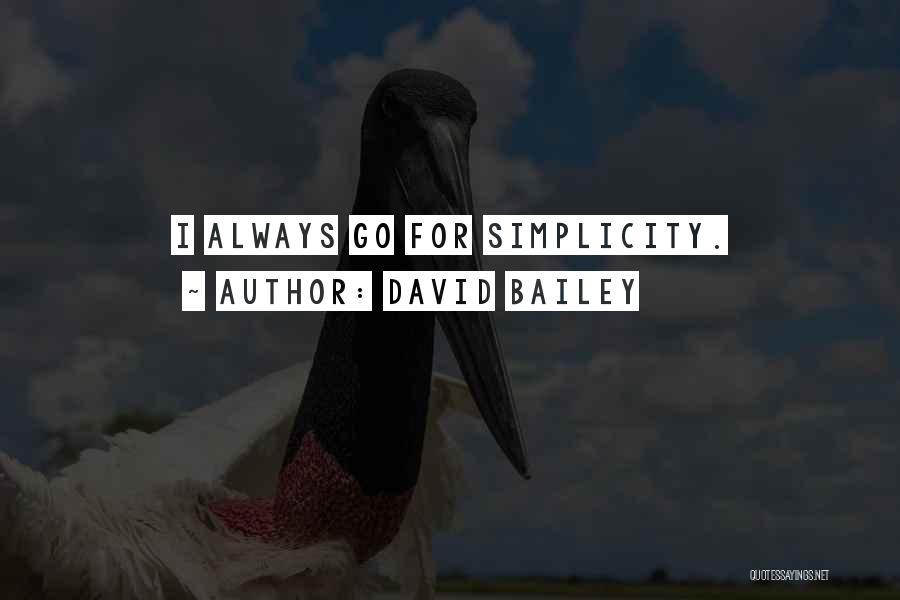 David Bailey Quotes 562700