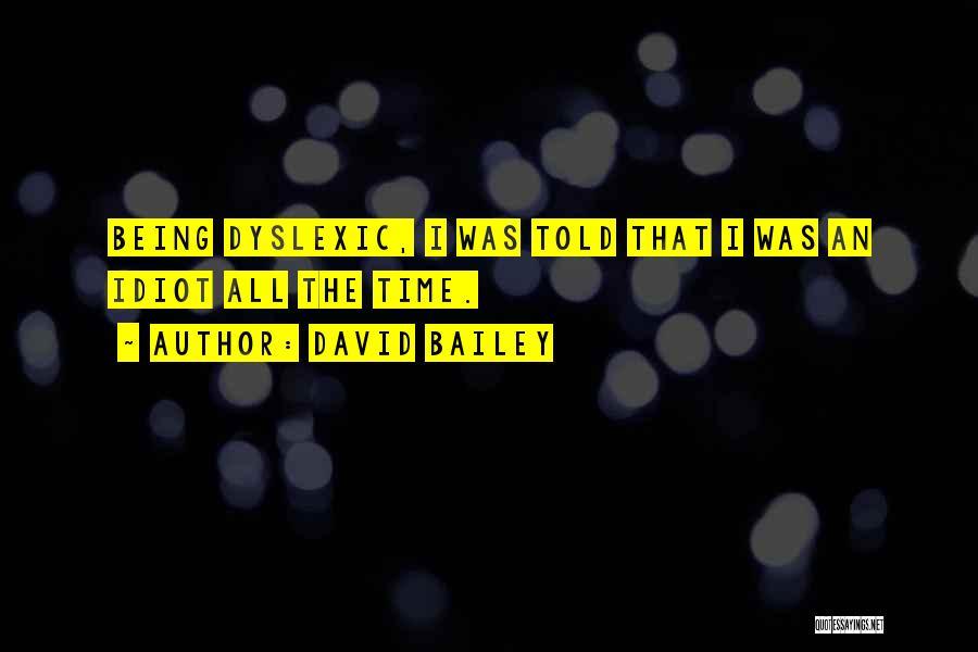 David Bailey Quotes 593675