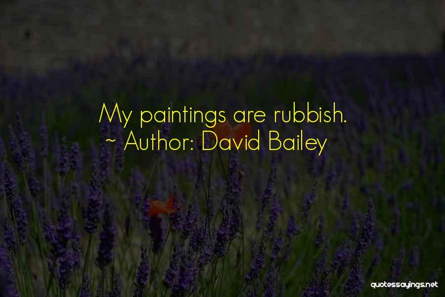 David Bailey Quotes 767729