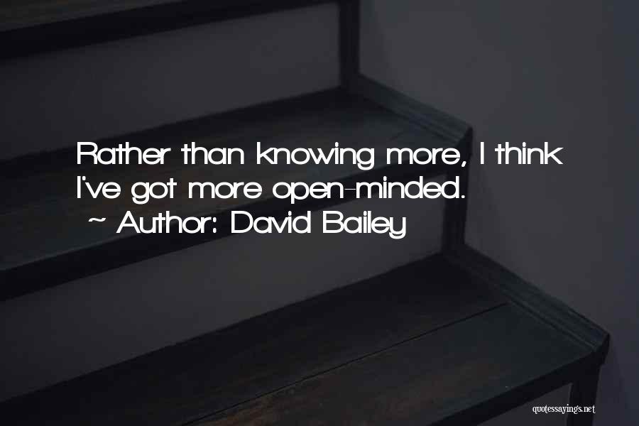 David Bailey Quotes 826846