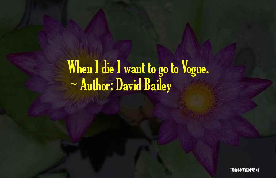 David Bailey Quotes 843275