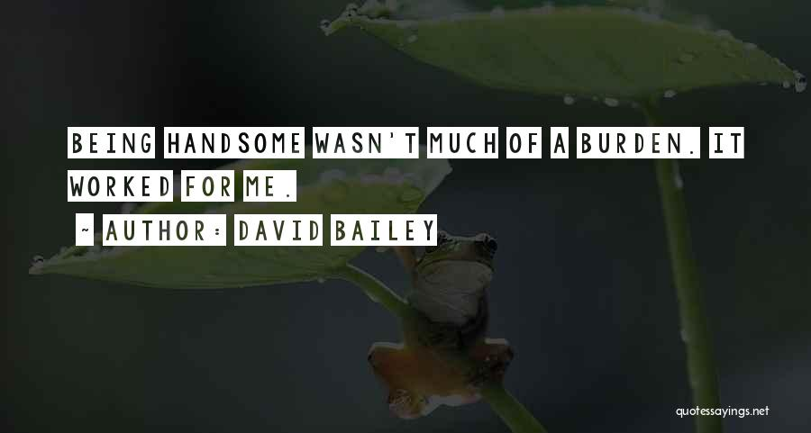 David Bailey Quotes 873964