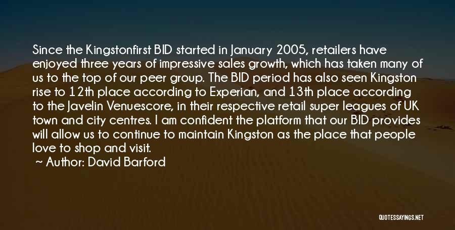 David Barford Quotes 1104444