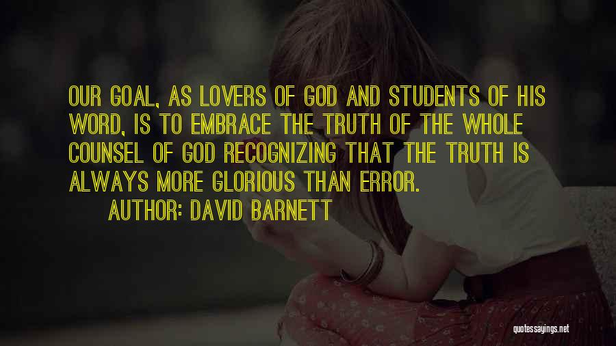 David Barnett Quotes 1374660