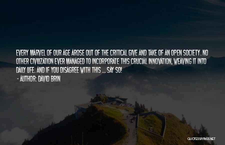 David Brin Quotes 1113455